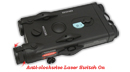 PEQ Battery Case With Laser Pointer - Large